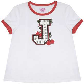 Juicy Couture Cherry Grove Ringer Tee for Girls