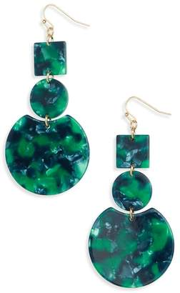 BP Geo Resin Drop Earrings