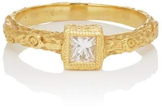 Cathy Waterman Women's White Diamond Ring