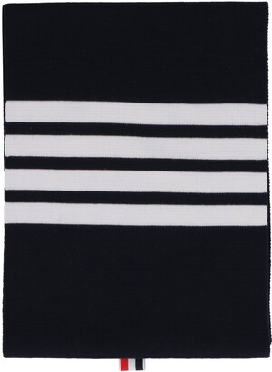 Thom Browne Knitted Wool Scarf