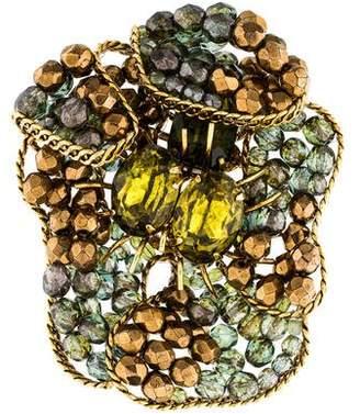 Erickson Beamon Crystal Brooch Pin