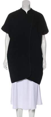 Zero Maria Cornejo Virgin Wool Knit Coat