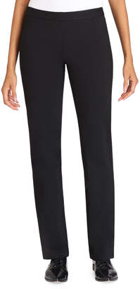 Lafayette 148 New York Straight-Leg Crepe Pants