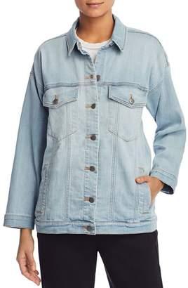 Eileen Fisher Petites Relaxed Denim Jacket