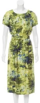 Peter Som Printed Midi Dress