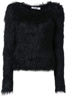 Jil Sander furry knitwear