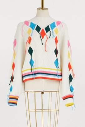 Mira Mikati Sweater with threads
