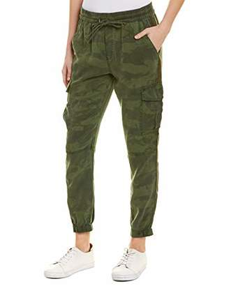 Pam & Gela Women's Bronze Side Stripe CAMO Pant