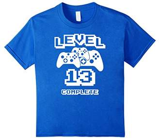 Level 13 Complete Extreme Gamer 13th Birthday Gaming T-Shirt