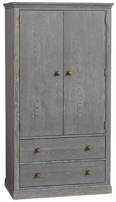 Pottery Barn Kids Charlie Armoire, Smoked Charcoal