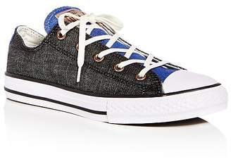 Converse Unisex Chuck Taylor All Star Chambray Lace Up Sneakers - Toddler, Little Kid, Big Kid