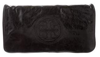 Tory Burch Leather Reva Clutch