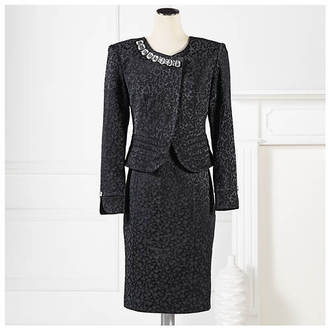 Jewel Brocade Jacket & Dress $124.95 thestylecure.com