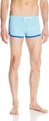 2xist Men's Cabo Solid Swim Trunks