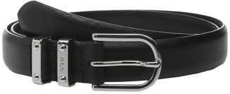 Lauren Ralph Lauren Classics 1 Embossed Leather w/ Double Metal Keeper Women's Belts