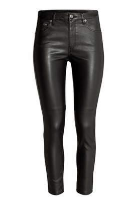 H&M Imitation Leather Pants
