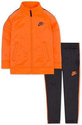 Nike Little Boys' 2-Pc. Tribute Track Suit $48 thestylecure.com