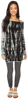 Hard Tail - Off Shoulder Tunic Women's Clothing $98 thestylecure.com