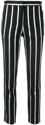 Each X Other stripe cropped trousers