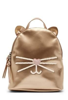 T-Shirt & Jeans Cat Patent Mini Backpack