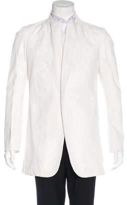 Joe Chia Paint Splatter Woven Jacket