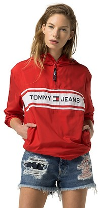 Tommy Jeans Popover Jacket $199.50 thestylecure.com