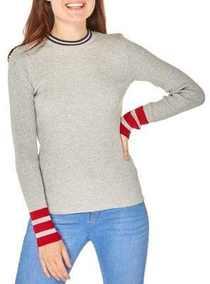Dorothy Perkins Ribbed Long-Sleeve Sweater