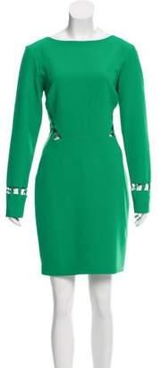Nicole Miller Cutout Mini Dress