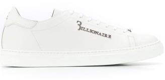 Billionaire lace up sneakers