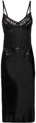 McQ lace slip dress