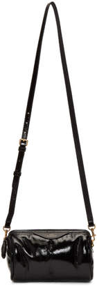 Anya Hindmarch Black Chubby Barrel Crossbody Bag