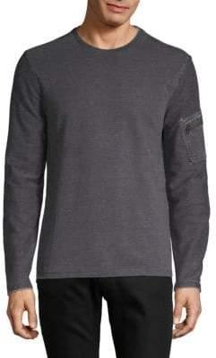 John Varvatos Classic Long-Sleeve Sweater