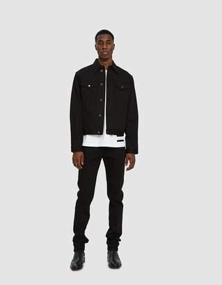 Calvin Klein Jeans Est. 1978 Trucker Jacket in Black Rinse