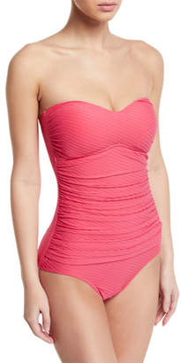Gottex Profile by Ribbons Bandeau One-Piece Swimsuit
