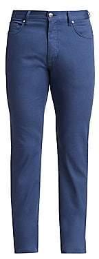 Ermenegildo Zegna Men's Skinny Cotton Trousers