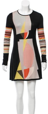 Chanel Cashmere Abstract Tunic