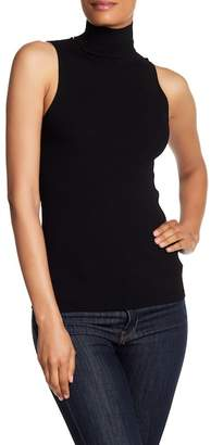 Tibi Sleeveless Seamless Pullover Sweater