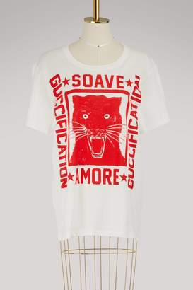 "Gucci ""Soave Amore Guccification"" print T-shirt"