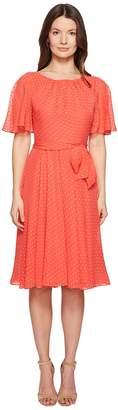 Kate Spade Spice Things Up Clipped Chiffon Dress Women's Dress