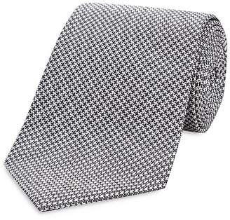 Turnbull & Asser Houndstooth Wide Tie