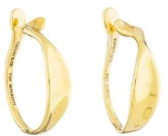 Tiffany & Co. 18K Hoop Cuff Earrings