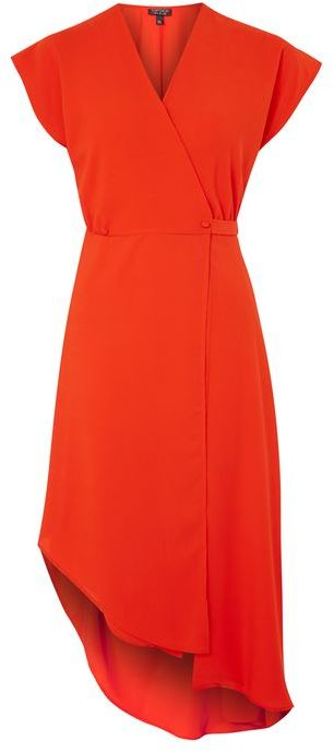 Topshop Topshop Asymmetric wrap dress