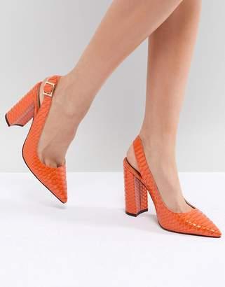 Asos DESIGN Penley Slingback High Heels