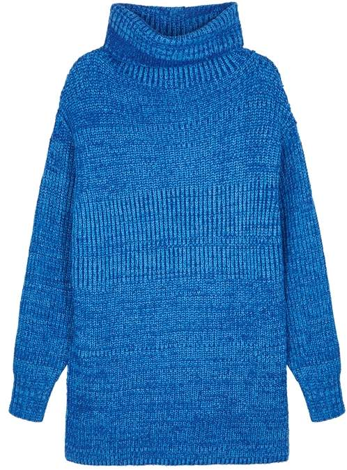 Eleven Blue Knitted Jumper