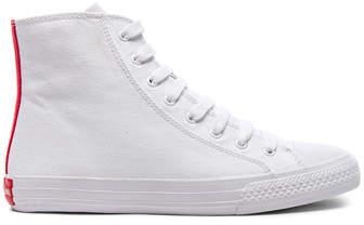 CALVIN KLEIN 205W39NYC Canvas High-Top Sneakers