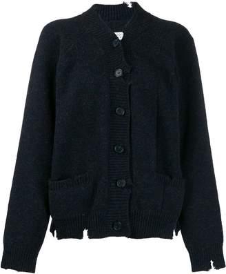 Maison Margiela distressed knitted cardigan