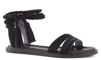 Seychelles Botanical Leather Tassel Wraparound Sandal