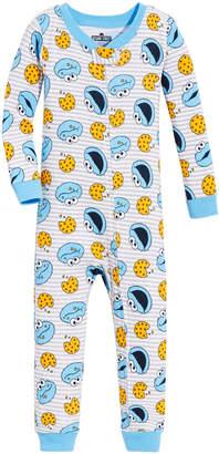 940ef6756d Sesame Street Toddler Boys Cookie Monster Cotton Pajamas