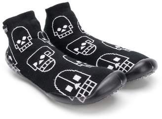 Nununu TEEN skull robot slippers