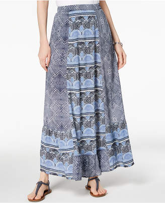 Style&Co. Style & Co Mixed-Print Maxi Skirt, Created for Macy's